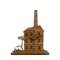 Engine House Mantel Clock