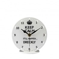 Keep Calm Mantel Clock