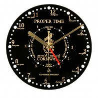 Proper Time & Tide Wall Clock