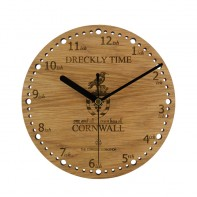 Dreckly Time Wall Clock