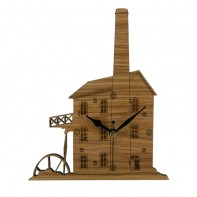 Engine House Wall Clock