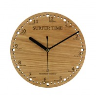 Surfer Time Wall Clock